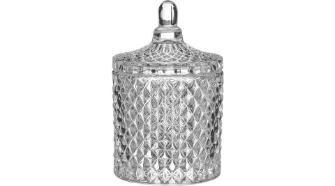 《Premier》玻璃收納罐(菱紋)