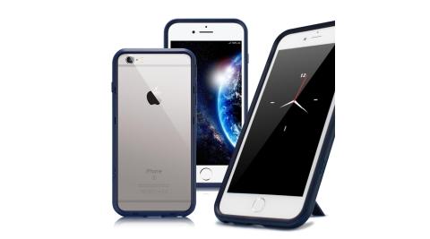 Thunder X iPhone SE2/iPhone 8 / iPhone 7 / 6s 防摔邊框手機殼-藍