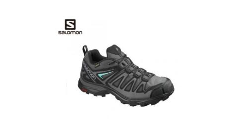 【SALOMON 索羅門】女鞋 X ULTRA 3 MID PEIME GTX 低筒登山鞋 磁灰 2018 新款 L40246200
