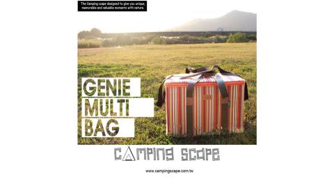 【Camping Scape】 Genie Multi 多功能收納袋 M 裝備袋 收納袋 露營 51L