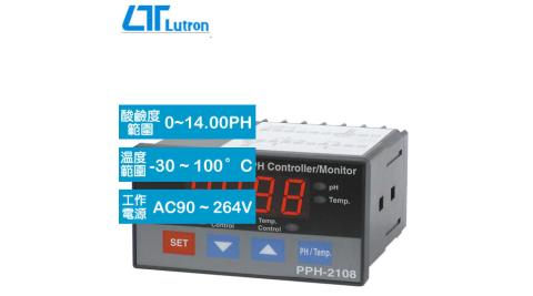 Lutron PPH-2108 酸鹼度設定顯示錶