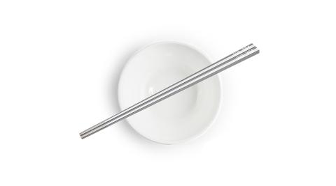 丹露 304不鏽鋼方形防滑筷(6雙入) S304-235