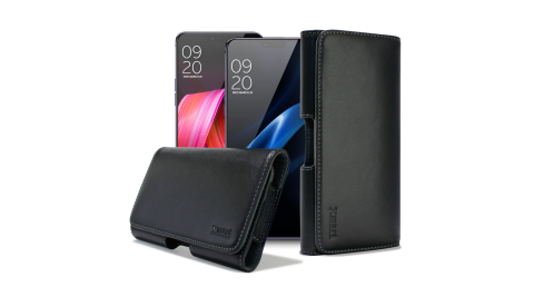 XM for Samsung Galaxy J4 / J6 型男羊皮橫式腰掛皮套