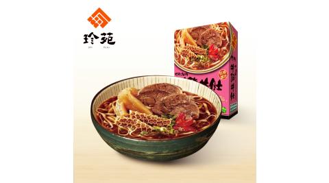 《珍苑》紅燒牛筋牛肚牛肉麵(常溫)(530g/份,共2份)