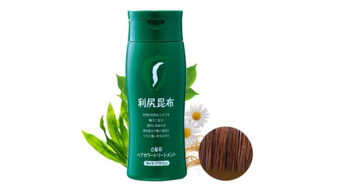 Sastty 利尻昆布染髮劑_褐色 (淺棕色) 日本第一台灣代理 植萃染髮