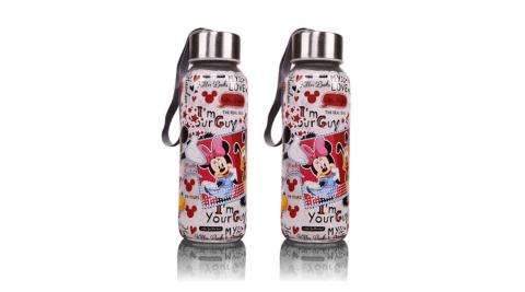 【迪士尼】米奇萬花筒隨手瓶 二入 CL-0059