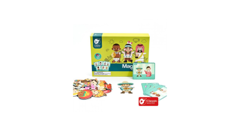 【德國 classic world 客來喜經典木玩】磁性遊戲盒-世界風情