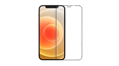 DAPAD FOR iPhone 12 Mini 5.4吋 極致防護2.5D鋼化玻璃保護貼-黑