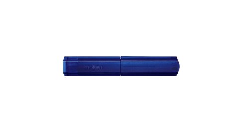 MOLTEN 普通型打氣筒-充氣筒 籃球 足球 排球 躲避球 附球針 攜帶型 透明藍@HPGU@