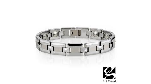 MASSA-G DECO系列【鐵灰光芒】頂級鎢鋼手環