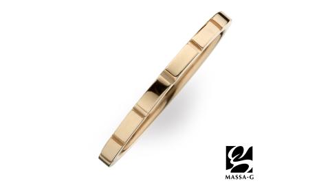 DECO X MASSA-G系列【M. Class】 M05純鈦戒指-玫瑰金