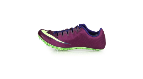 NIKE ZOOM SUPERFLY ELITE 男女田徑釘鞋-短距離  競賽 深紫螢光綠@835996600@