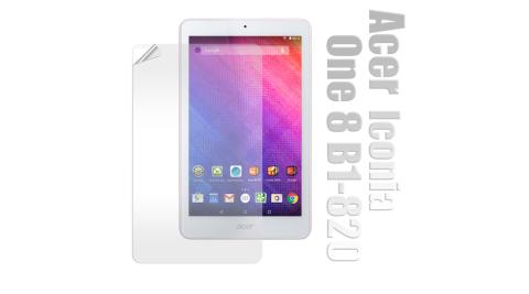 Acer Iconia One 8吋 B1-820 高透光亮面耐磨保護貼