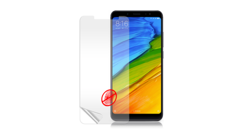 Monia 紅米Note 5 防眩光霧面耐磨保護貼