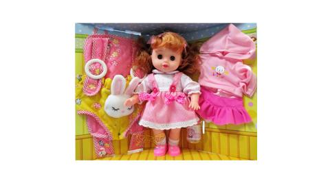 【孩子國】綺妮甜心娃娃 (ST安全玩具認證)
