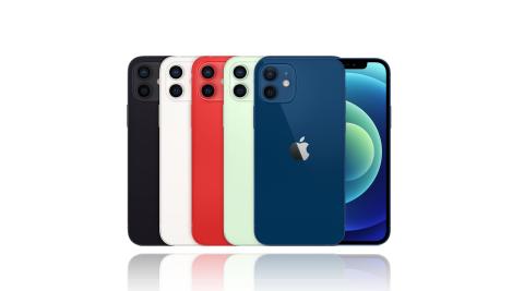(預購)Apple iPhone 12 128G 防水5G手機※送玻保+保護套※