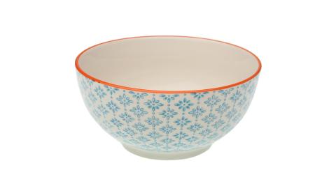 《VERSA》陶製餐碗(小花藍15.2cm)