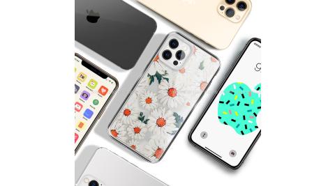MOOTUN for iPhone 12 / 12 Pro 6.1 防護晶透保護殼 -滿版小雛菊