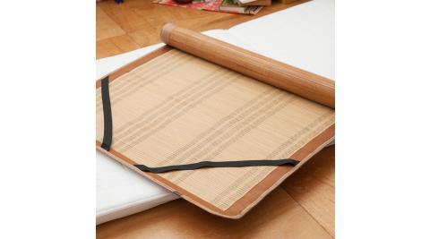 LAMINA 平單式碳化竹蓆-3x6尺(單人)