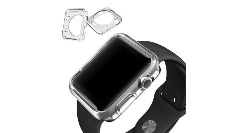 (2入)Apple Watch 38mm 專用清透水感保護套 crystal case