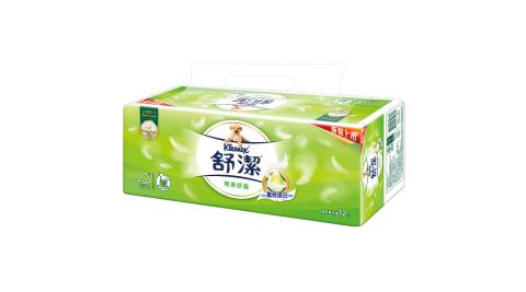 【舒潔】棉柔舒適抽取衛生紙110抽(12包x6串)