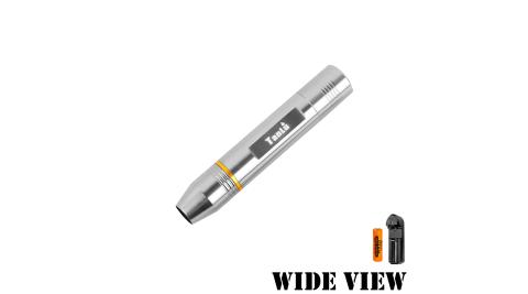 【WIDE VIEW】玉石專用強光手電筒組(附電池+充電器NTL-009-A)