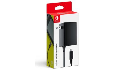 【Nintendo 任天堂】Switch 主機原廠變壓器電源線 支援TYPE-C (原裝進口)