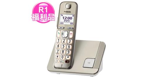 【福利品】Panasonic 國際牌 KX-TGE210TW 繁體中文數位無線電話