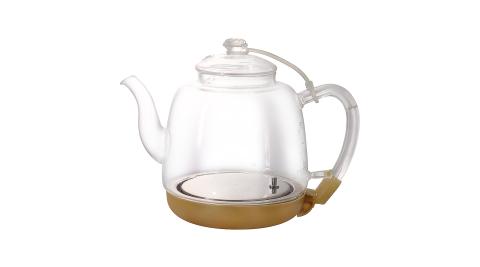 HUSKY哈適奇 智能淨水料理壺專用自動上水玻璃加熱壺1.0L