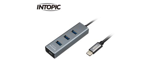 【INTOPIC 廣鼎】USB3.1 Type-C高速集線器 HBC-590