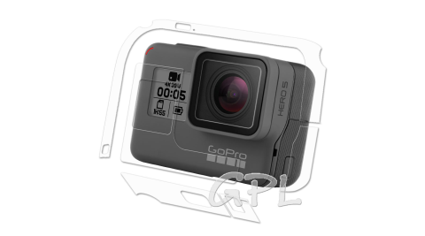 (2入)GoPro HERO 5 主機專用透明保護膜 機身膜(防污 防指紋)