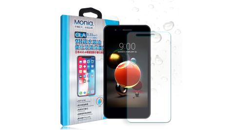 MONIA LG K9 日本頂級疏水疏油9H鋼化玻璃膜 玻璃保護貼(非滿版)