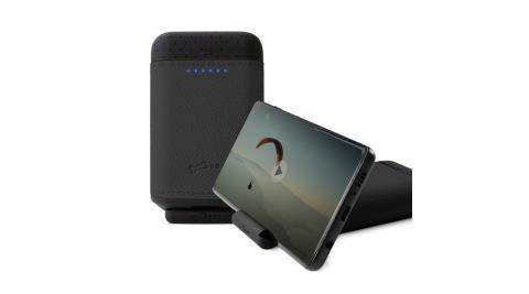 【BONE】矽皮革行動電源 10050mAh - 支援QC3.0/USB-C雙向快充