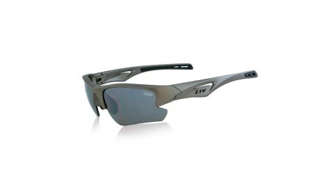 【ZIV】ZIV-運動眼鏡霧鋁光黑框-N6-B102003 HIT 可換片系列 墨鏡 太陽眼鏡