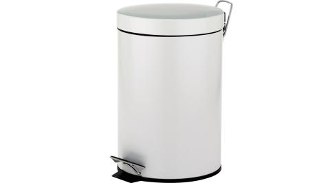 《KELA》Marino腳踏式垃圾桶(白5L)