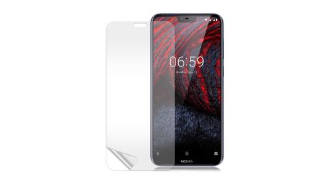 VXTRA Nokia 6.1 Plus 高透光亮面耐磨保護貼 保護膜