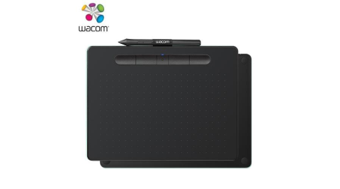 Wacom Intuos Comfort Plus Medium 藍牙版繪圖板 CTL-6100 黑