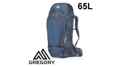 【Gregory】登山背包 BALTORO 65 男 薄暮藍 (91608/91609) 登山背包 M/L