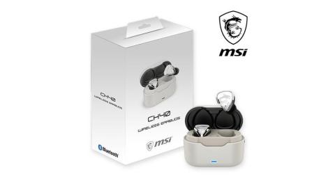 MSI微星 CH40 Wireless Earbuds 無線藍芽耳機