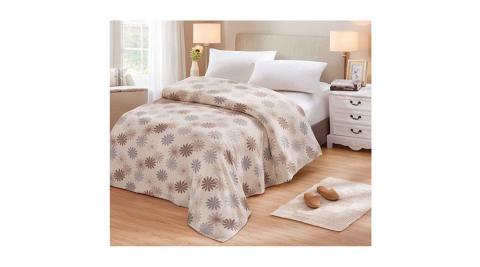 JOANNA 5X6尺太陽花毛毯/冷氣毯(四季適用)