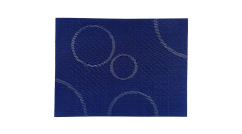 《ZONE》綺想泡泡餐墊(藍紫)