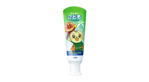日本獅王 LION 麵包超人牙膏-哈密瓜40gX6支