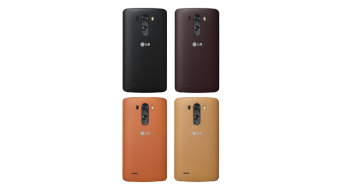 LG G3 D855 原廠皮紋保護背蓋 CCH-355G (台灣公司貨-盒裝)