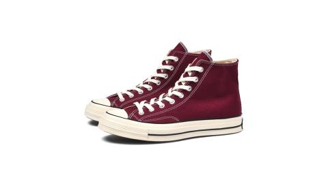 CONVERSE CHUCK 1970 男女高筒帆布鞋 酒紅 162051C