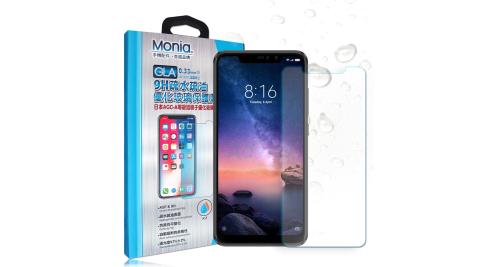MONIA 紅米Note 6 Pro 日本頂級疏水疏油9H鋼化玻璃膜 玻璃保護貼(非滿版)