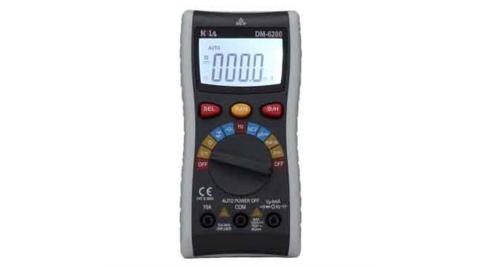 HILA DM-6200 多功能自動換檔電錶