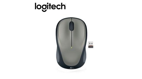 【logitech 羅技】 M235 無線滑鼠 灰