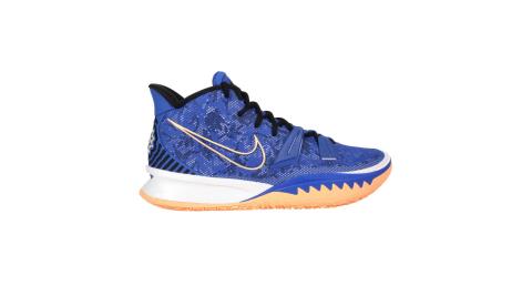 NIKEKYRIE7EP男籃球鞋訓練厄文中筒氣墊藍橘CQ9327400