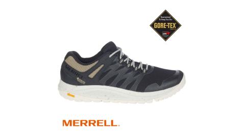 【MERRELL】Nova 2 GORE-TEX 健行用慢跑鞋 登山鞋 J066783 黑/杏 男款