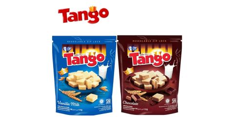 【印尼】Tango威化餅(可可、香草牛奶)X4